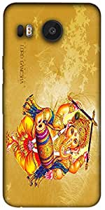 Timpax Protective Hard Back Case Cover Printed Design : Ganesh Ji .Compatible with LG Nexus 5X