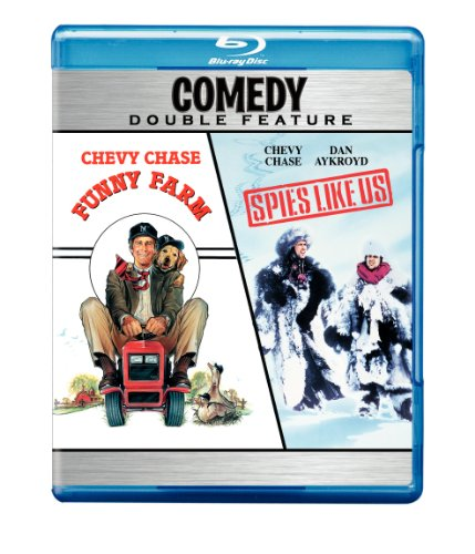 Cover art for  Funny Farm (1988) / Spies Like Us (1985) (Double Feature) [Blu-ray]