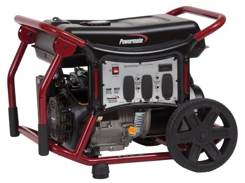 Powermate PM0145500 Generator With Manual Start 5500 Watt