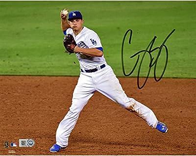 "Corey Seager Los Angeles Dodgers Autographed 8"" x 10"" Fielding Photograph - Fanatics Authentic Certified"
