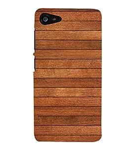 Brown Wood Texture Cute Fashion 3D Hard Polycarbonate Designer Back Case Cover for Lenovo ZUK Z2 :: Lenovo Z2 Plus
