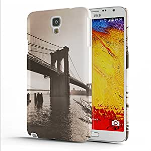 Koveru Designer Printed Protective Snap-On Durable Plastic Back Shell Case Cover for Samsung Galaxy Note 3 Neo - The Hanging Bridge