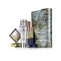 Estee Lauder 2013 7 Pieces Re-Nutriv Makeup Skincare Gift Set with Metailic Faux-Snakeskin Clutch Cosmetic Bag from Estee Lauder