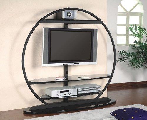 Cheap Black Global LCD / Plasma Flat Panel TV Stand with Bracket (VF_AZ00-28535×30255)