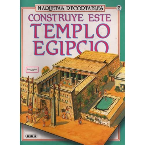 Construye Este Templo Egipcio (Maquetas Recortables, 580-07): Equipo