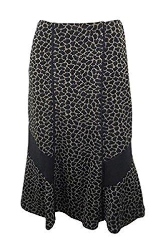 marks-spencer-par-una-marron-et-noir-imprime-animal-panneau-jupe-avec-bordure-noir-marron-36