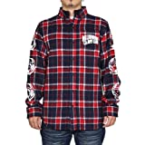 ビリオネアボーイズクラブ Billionaire Boys Club HELMET PRINT FLANNEL SHIRT B16413