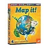 Foxmind - Juguete educativo de geografía (Fox Mind Map it ENG) (versión en inglés)