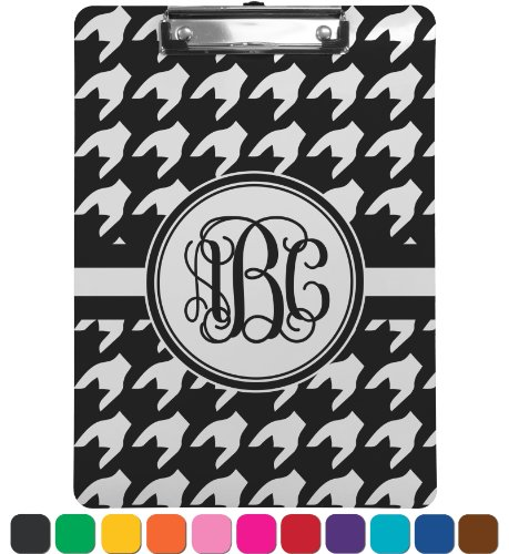 Houndstooth Clipboard - Legal Size front-823113