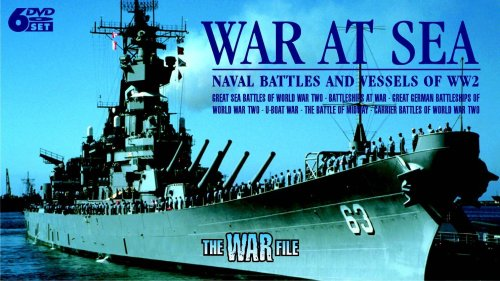 War At Sea - Naval Battles And Vessels Of World War Two [DVD]