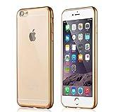 iPhone SE TPU ケース PopSky® Apple iPhone se/ iPhone5s / iPhone5c / iPhone5 4.0インチ TPU 快適柔らかい スマホカバー (iPhone SE, ゴールド)