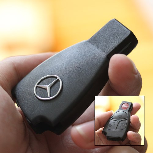 New replacement remote key fob case shell for mercedes for Replacement key for mercedes benz