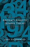 img - for Abstract Analytic Number Theory (Dover Books on Mathematics) book / textbook / text book