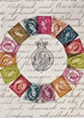 Coronation Stamps Wrapping Paper