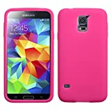 Product B00JJIC8JU - Product title MyBat Samsung Galaxy S5 Solid Skin Cover - Retail Packaging - Hot Pink
