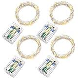 4-Stck-20er-LED-Drahtlichterkette-Batterie-betrieben-Oak-Leaf-warm-wei-Innen-Lichterkette-mit-Zeiteinstellung-Micro-LED-66ft-Silberne-Draht-Licht-Weihnachtsbeleuchtung-Hochzeit-Party-Deko-Sternen-Lich