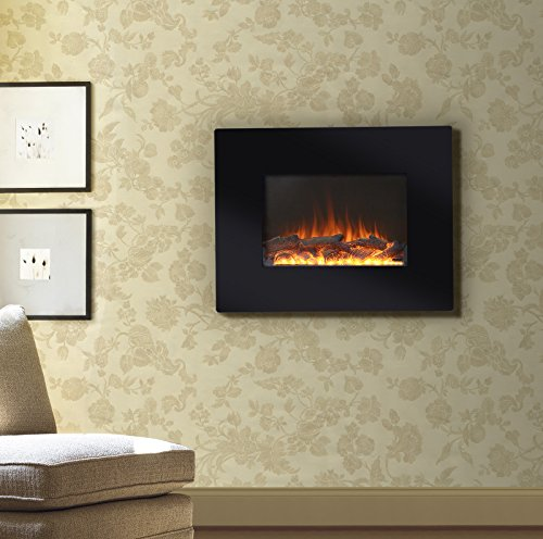 Flamelux 26 in. Wall Mount Electric Fireplace -