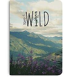 DailyObjects Keep It Wild A5 Notebook Plain