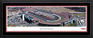 NASCAR Tracks - Martinsville Speedway Aerial - Framed Poster Print by Laminated Visuals