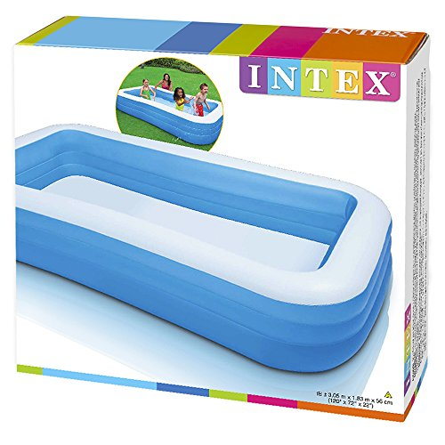 Intex swim center family inflatable pool lazada malaysia Intex inflatable swimming pool