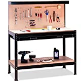 Werkbank 151 x 117 x 58 cm - Werkstatttisch Packtisch