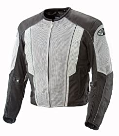 Sullivans Joe Rocket Men's Phoenix 5.0 Mesh Jacket in Grey/Black - 3X-Large/Tall