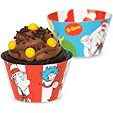 Dr. Seuss Reversible Cupcake Wrappers (12)