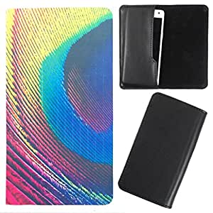DooDa - For Intex Cloud M6 PU Leather Designer Fashionable Fancy Case Cover Pouch With Smooth Inner Velvet