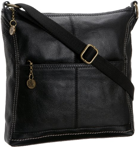The SAK Iris 104118 Cross Body,Black,One Size