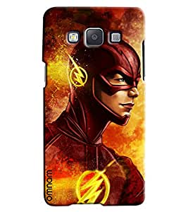 Omnam Red Super Hero Printed Designer Back Cover Case For Samsung Galaxy A3