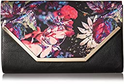 Call It Spring Tiffany Clutch, Black/Multi, One Size