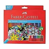 Faber Castell Premium Color Pencils, 60 colour (Color: 60 colour, Tamaño: 60 colors)