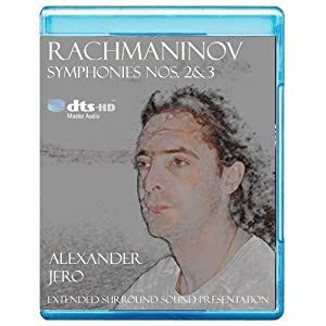 Rachmaninov: Symphony No. 2&3 - The New Dimension of Sound Symphonic Series [7.1 DTS-HD Master Audio Disc] [BD25 Audio Only] [Blu-ray]