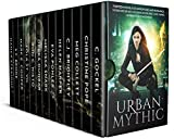 img - for Urban Mythic: Thirteen Novels of Adventure and Romance, featuring Norse and Greek Gods, Demons and Djinn, Angels, Fairies, Vampires, and Werewolves in the Modern World book / textbook / text book
