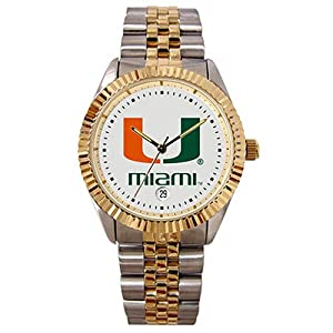 Miami Hurricanes The Executive Mens Watch by SunTime