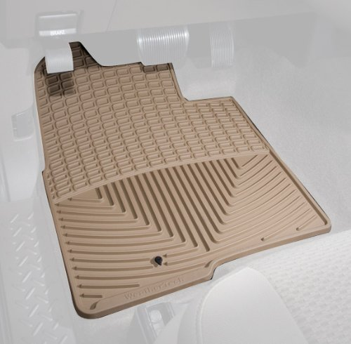 WeatherTech Trim to Fit Front Rubber Mats for Select Honda Accord Models (Tan)