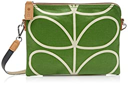Orla Kiely Giant Linear Travel Pouch, Apple, One Size