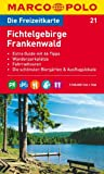 MARCO POLO Freizeitkarte Fichtelgebirge, Frankenwald 1:100.000