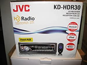 JVC KD-HDR1 In-Dash Car Audio CD/MP3 Receiver w/ Built-in HD Tuner
