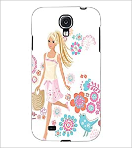 PrintDhaba Cool Girl D-1048 Back Case Cover for SAMSUNG GALAXY MEGA 6.3 (Multi-Coloured)