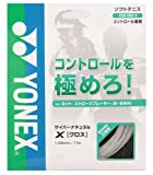 ヨネックス(YONEX) CYBER NATURAL CROSS (ソフトテニス用) クリアー CSG650X