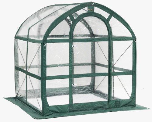 Flower House Fhsp300Cl Springhouse Greenhouse, Clear front-918749