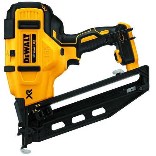 Cheapest Prices! Dewalt DCN660B 20V MAX Cordless Lithium-Ion 16 Gauge Angled Finish Nailer (Bare Too...