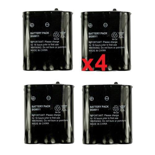 Panasonic KX-TG5100 1200mah, 3.6v, NiMH Panasonic HHR-P402 Panasonic KXTG2700S for Panasonic Cordless Phones Compatible with 2 Pack Panasonic KX-TG5100M P-P511 Battery Replacement