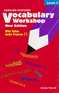 Vocabulary Workshop: Level F - 0821571117