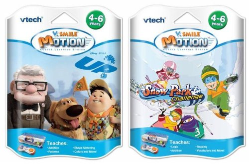 V Smile V Motion Game Bundle - Snow Park & Up! - 1