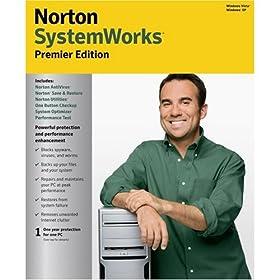NORTON SYSTEMWORKS 2008 PREMIER EDITION (2 cds)
