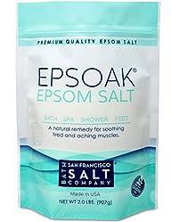 Epsoak Epsom Salt 2 Lbs – 100% Pure M…