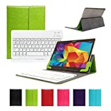 CoastCloud Germany Layout Universal Detachable Green Keyboard Case For ALL 10