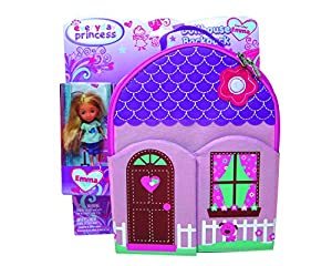 Neat-Oh Everyday Princess ZipBin 40 Doll Dollhouse Backpack with 1 Doll from Neat-Oh